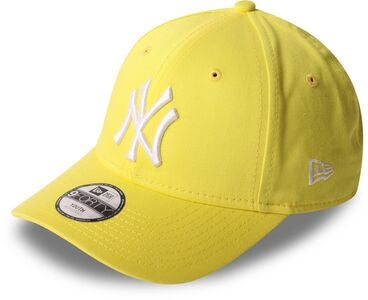 New Era NYY League Essential 940 Kappe, Yellow