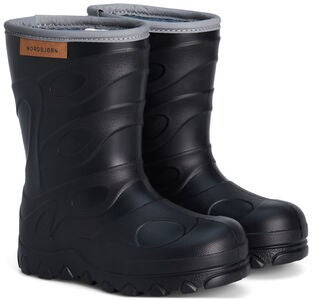 Nordbjørn Blizz Light Winter Gefütterte Gummistiefel, Black