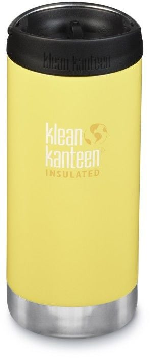 Klean Kanteen TKWide Wide Café Cap Thermosbecher 355ml, Buttercup