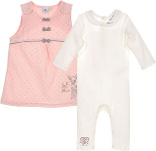 Disney Bambi  Kleid & Overall, Pink