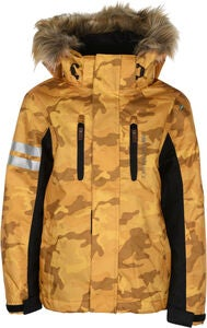 Lindberg Camo Winterjacke, Yellow