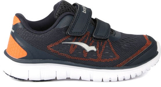 Bagheera Player Sneaker, Navy/Orange