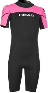 HEAD Sea Ranger Shorty Wasseranzug, Schwarz/Rosa