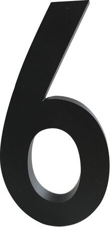 Design Letters Architect Numbers 100mm 6