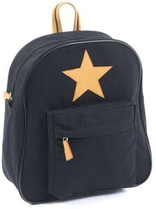 Smallstuff Rucksack Star Large, Black