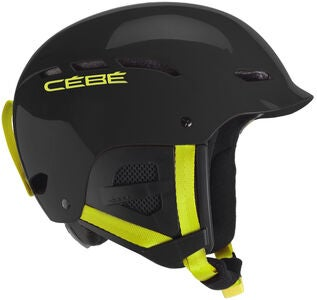 Cébé Dusk Shiny Skihelm JR, Black/Yellow