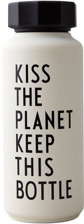 Design Letters Thermosflasche Special Edition, White