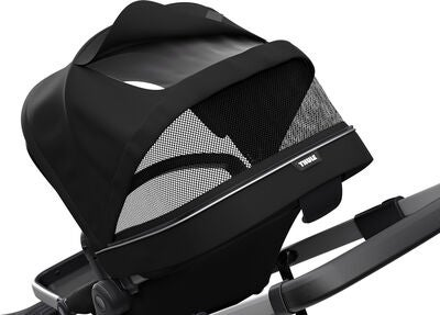 Thule Sleek Kombiwagen, Midnight Black