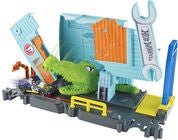 Hot Wheels City Gator Garage Attack Spielset