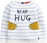 Tom Joule Pullover, Blue Stripe Bear Hug
