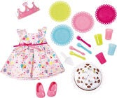 Baby Born Puppenzubehör Deluxe Party Set