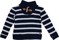 Ebbe Valle Pullover, Navy-Sand