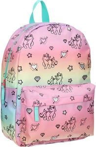 Milky Kiss Rainbows And Unicorns Large Rucksack, Origin