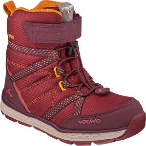 Viking Skomo GTX JR Stiefel, Dark Red/Wine