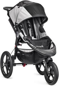 Baby Jogger Joggingwagen Summit X3 Single, Schwarz/Grau