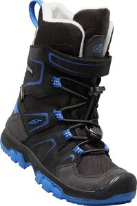 KEEN Levo Winterstiefel WP, Black/Blue