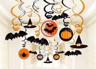 Halloween Dekoration Wirbel 30er-Pack