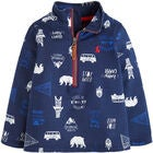 Tom Joule Pullover, Navy Happy Camper
