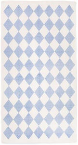 Alice & Fox Teppich Harlekin, Soft Blue
