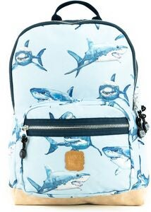 Pick & Pack Rucksack Shark, Light Blue