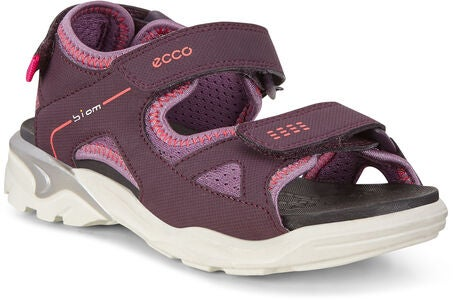 ECCO Biom Raft Sandalen, Mauve/Grape