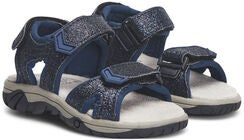Little Champs Race Glitter Sandalen, Navy