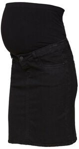 Mamalicious Lola Slim Rock, Black Denim