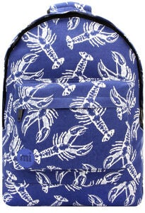 Mi-Pac Lobsters Rucksack, Blue