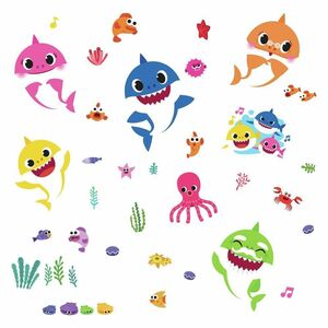 RoomMates Wallsticker Baby Shark