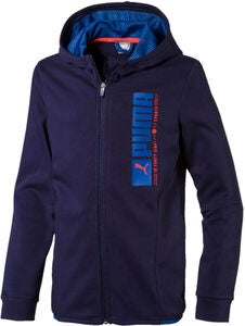 Puma Active Sports Hooded Jacke, Peacoat