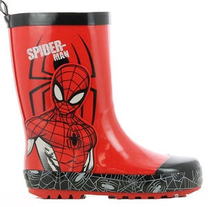 Marvel Spider-Man Gummistiefel, Red/Black