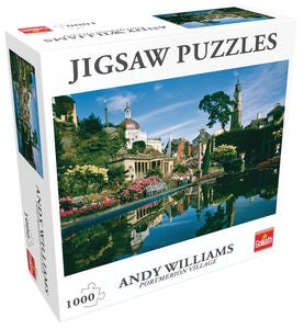 Goliath Games Puzzle Portmerion Village 1000 Teile
