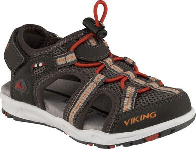 Viking Thrill Sandale, Charcoal/Red