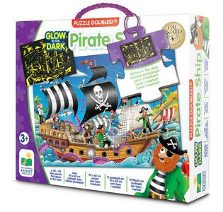 The Learning Journey Puzzle Doubles Piratenschiff Glow In The Dark