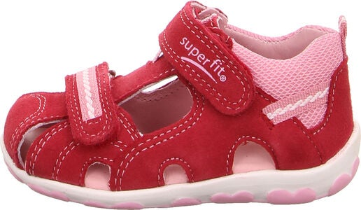 Superfit Fanni Sandalen, Red/Pink