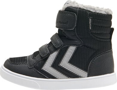 Hummel Stadil Poly Mid Jr Sneakers, Black