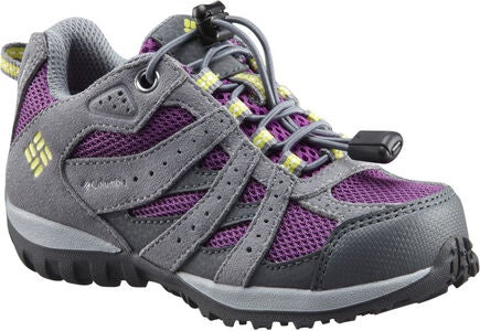 Columbia Children's Redmond Turnschuhe, Plum/Kiwi