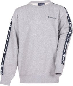 Champion Kids Crewneck Pullover, Grey Melange Light