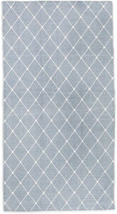 Alice & Fox Teppich Square Dots 150x200, Dusty Blue