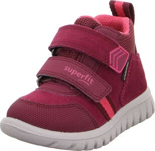 Superfit Sport7 GTX Sneaker, Red/Pink