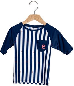 Ebbe Tebert UV-Shirt, Classic Navy Stripe