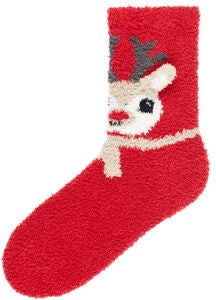 Name it Ruffle Terry Socken, Jester Red