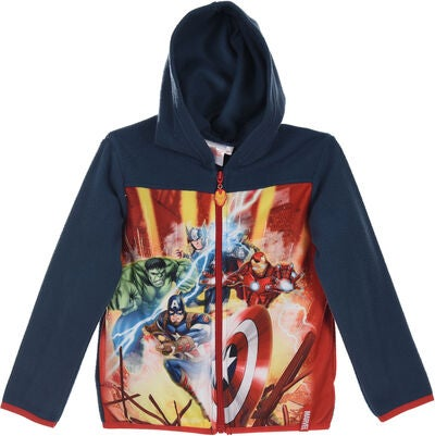 Marvel Avengers Fleecejacke, Blue
