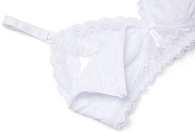 Milki Lace Still-BH, White