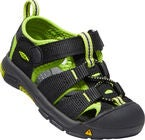 KEEN Newport H2 Toddlers Sandalen, Black/Lime Green