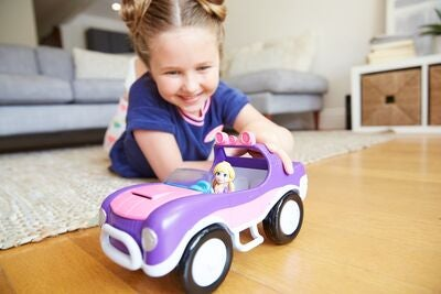Polly Pocket Fahrzeug Adventure Buggy Dual Scale