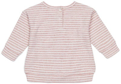 Luca & Lola Rosella Pullover Baby, Pink Stripes