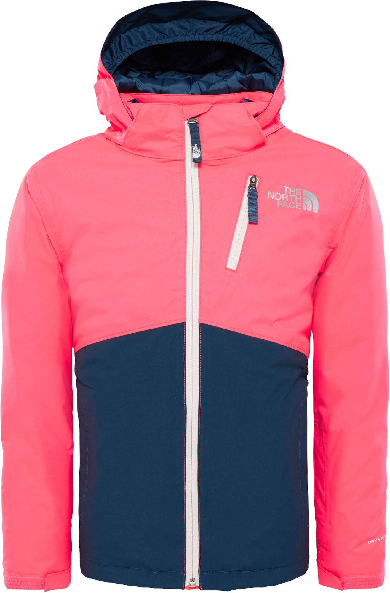Kaufen The North Face Snowquest Insulated Jacke, Rocket Red