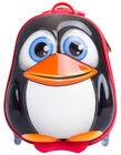 KID Zoo Trolley Pinguin, Schwarz/Rot