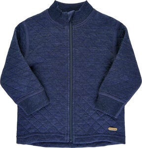 CeLaVi Strickjacke Wolle, Navy